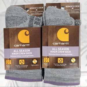 Carhartt All Season Hiker Crew Socks